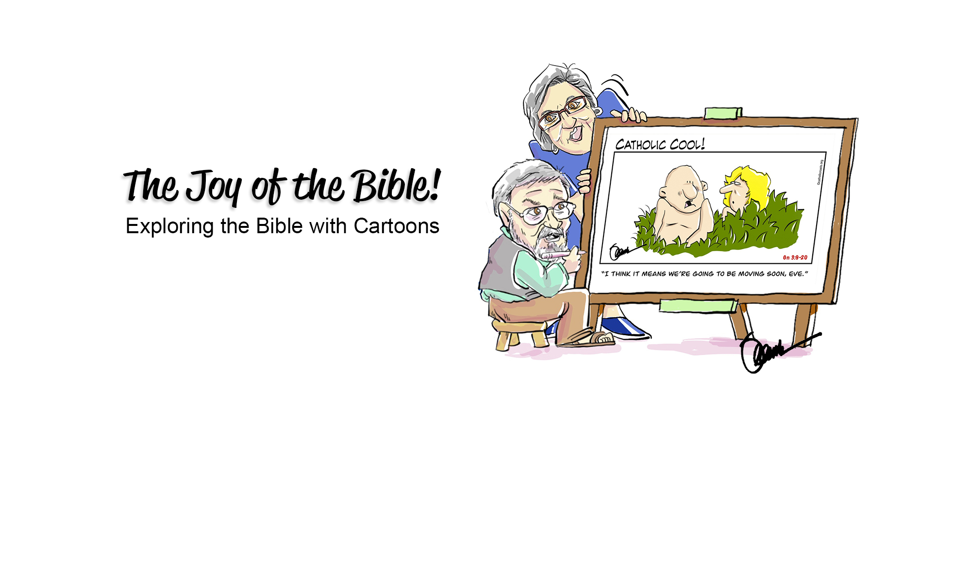 Bible Study Cartoons